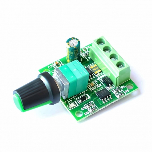 DC 1.8V 3V 5V 6V 12V 2A PWM Low Voltage Motor Speed Controller Adjustable Drive Module  1803BK