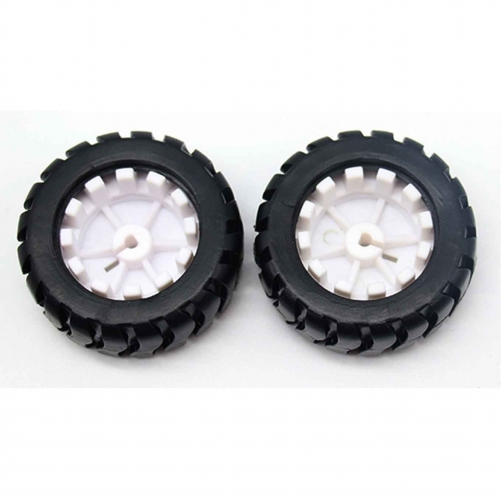 D axle tire 43MM for tracking car