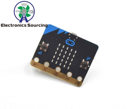 Microbit development board programming with cable