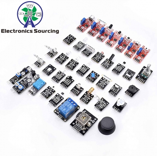 37 in 1 Sensor Kit with box for Arduino