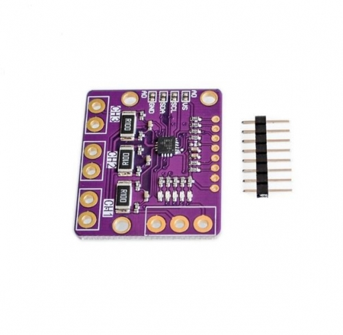 CJMCU-3221 INA3221 three channel low side/high side I2C output current monitor