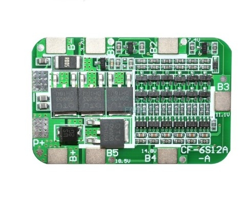 6S 18650 3.7V Lithium battery  BMS protection board