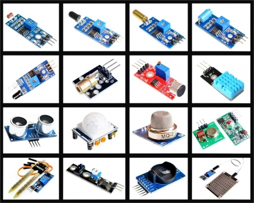 Raspberry pi 2 16 sensor kits