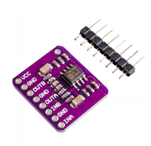 1308 Class AB stereo headphone driver audio module TDA1308