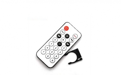 White 20 key Mini remote control 8 m