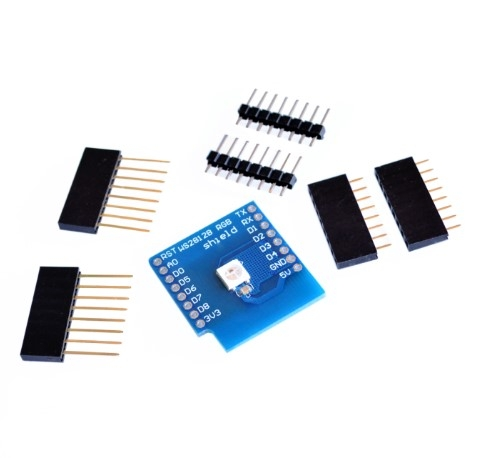 Smart Electronics WS2812B RGB SHIELD for D1 mini