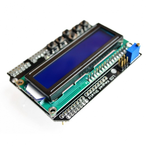 LCD Keypad Shield of the LCD 1602 character LCD input and output expansion board For ARDUINO