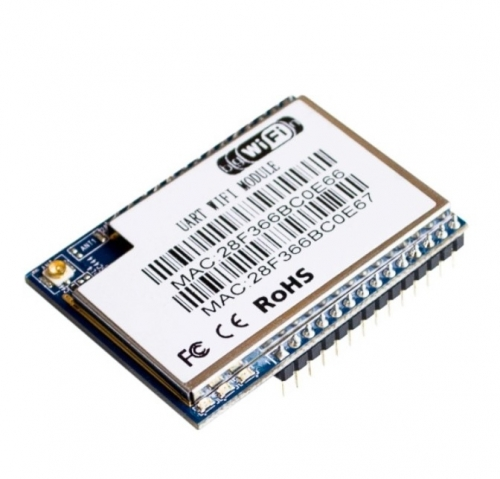 HLK-RM04 wifi dual-ethernet-port serielle port UART to WIFI module without antenna