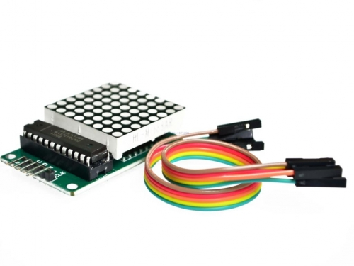 MAX7219 Dot Matrix Module MCU LED Display Control Kit