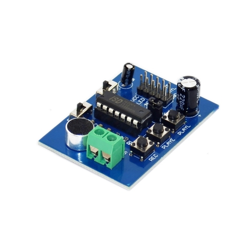 Blue PCB version ISD1820 voice board