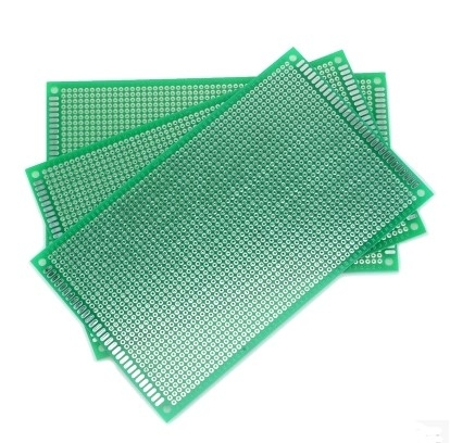 10*15 SINGLE SIDE FIBER GLASS GREEN  Board Prototype PCB Universal Board