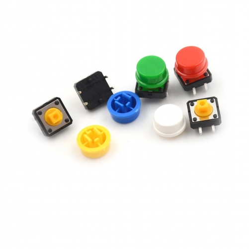 12*12*7.3MM  Tactile Push Button micro Switch 25PCS