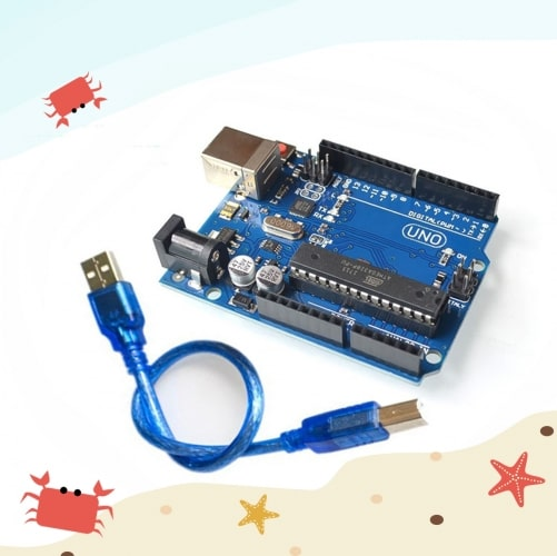 NO R3 Development Board ATmega16U2 with USB cable