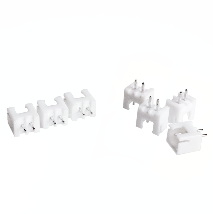 XH2.54-2P 2.54mm pitch White Connector Straight needle seat XH2.54 Cable Block