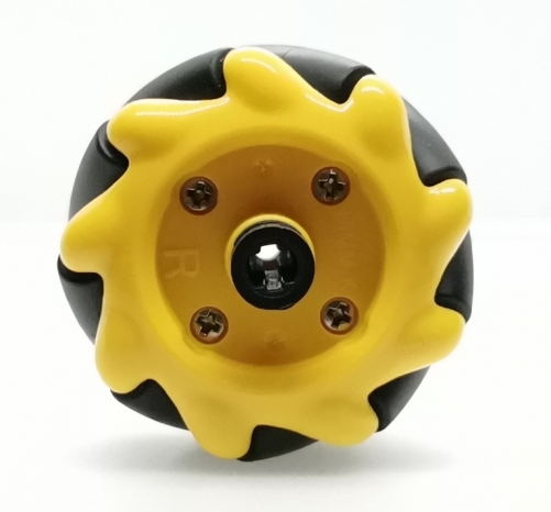 Mecanum Wheel 48mm(4pcs:2pcs right,2pcs left)