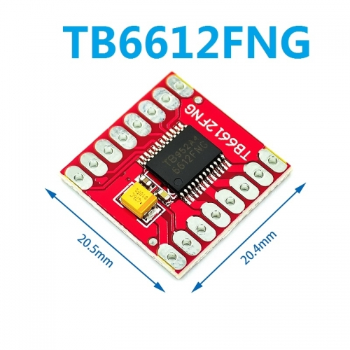 DRV8833 drive board module replaces TB6612FNG