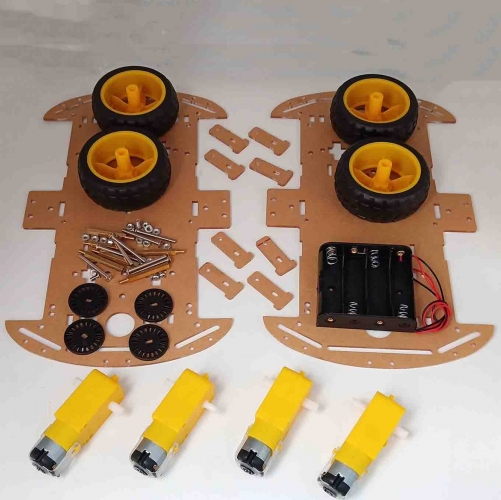 4WD Intelligent Robot Car chassis Kit