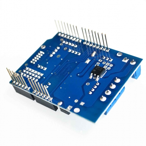 L298P PWM Speed Motor Drive Shield Board