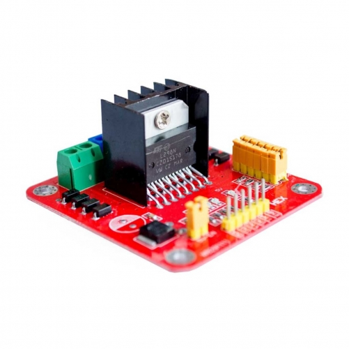 L298N Dual Bridge DC stepper Control Module