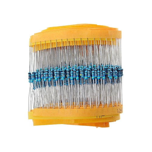 30 kind*20 PCs =600 PCs 1/4W 1% metal film resistors kit