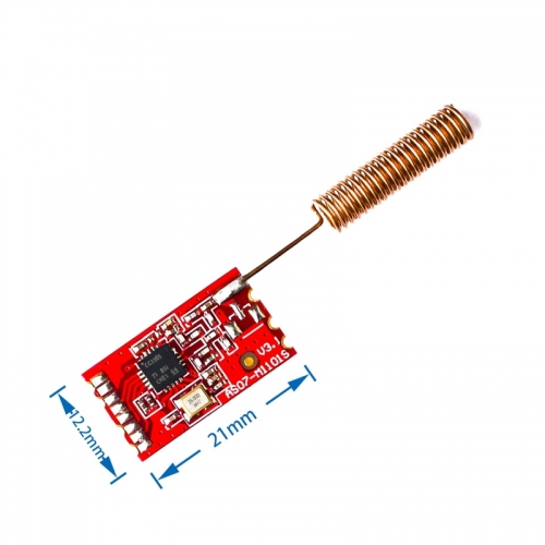 433MHz CC1101 Wireless RF Transceiver Module SI4432 RF Serial Communication Transmission