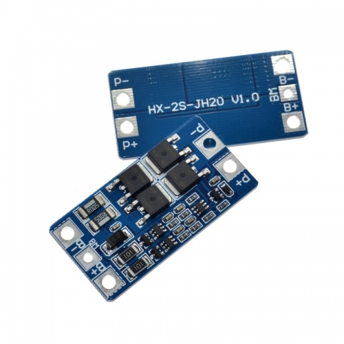 2S 10A 7.4V 18650 lithium battery protection board