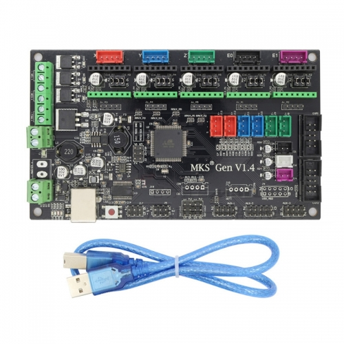 3D printer accessories motherboard MKS Gen V1.4 ramps1.4 & 2560 integrated board control board