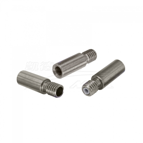 3D printer accessories stainless steel E3D inlet throat