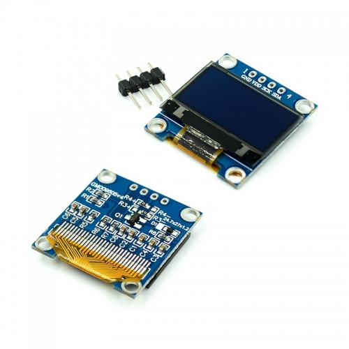 0.66/0.91/0.96/1.3/1.54/2.42 inch White / yellow / blue two color OLED LCD
