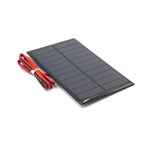 4V 5V 5.5V Mini Solar Panel DIY Accessories + Wires