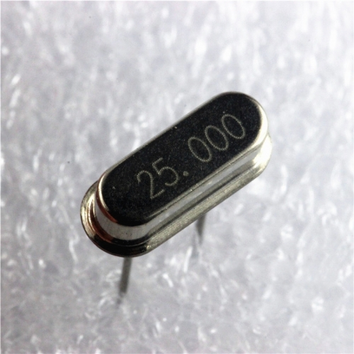 Crystal (25MHz) 49S passive crystal oscillator price for10pcs
