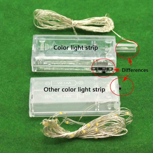 3V LED Strip Lamps With Battery Box