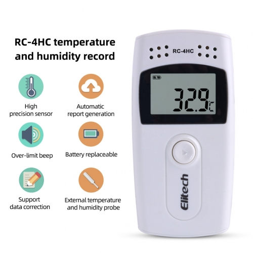 RC-4HC Digital Temperature&Humidity Data Logger