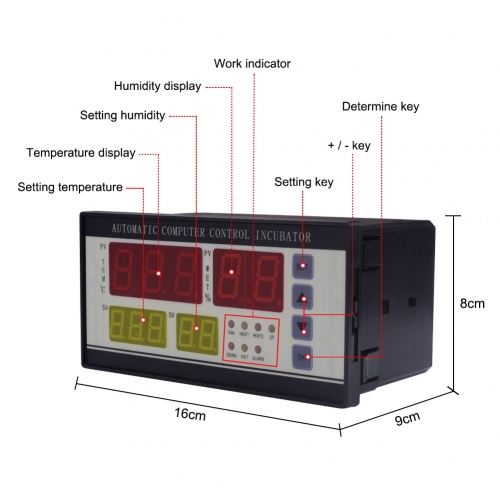 XM-18 Digital Automatic Incubator