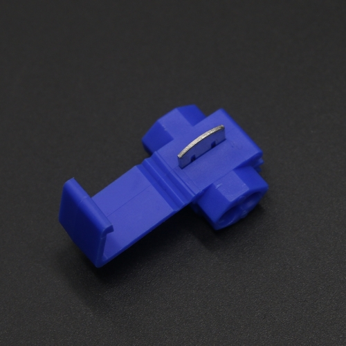 50 Pcs Blue 802P3 AWG 18-14 Wiring Connector Cable Clamp